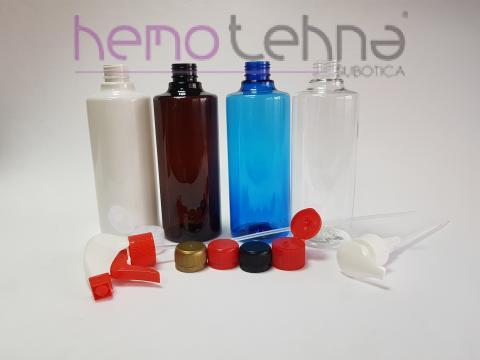 plastic pharmaceutical bottle 500 ml